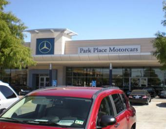 Park place mercedes benz smart car sprinter fort worth for Mercedes benz park place